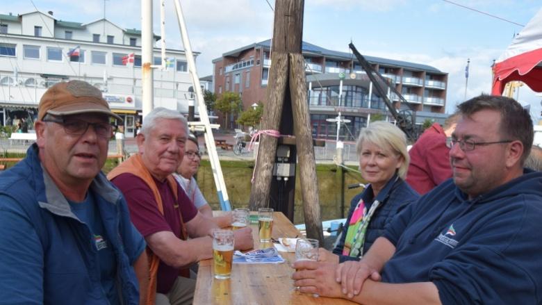 Astrid Damerow zu Besuch in Büsum