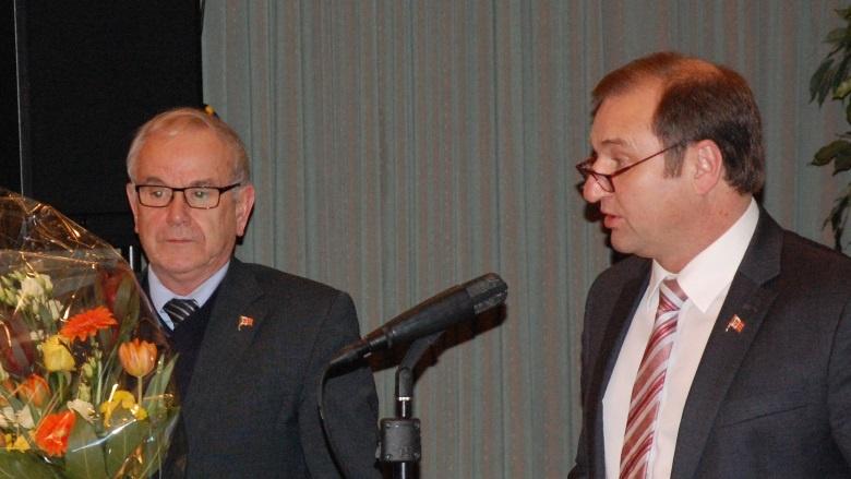 Ehrung von Hans-Harald Böttger (Kreispräsident)