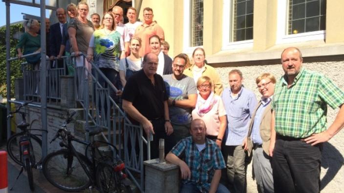 Auftakt zur Sommertour der CDU Kreistagsfraktion - CDU Fraktion zu Besuch beim Diakonischen Werk Husum