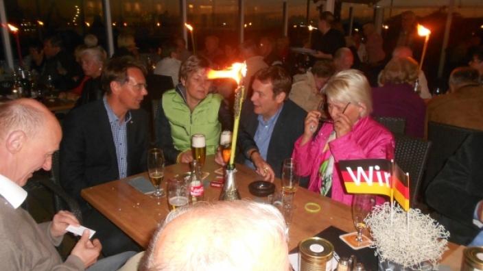 Grillvergnügen des CDU-Bezirksverbandes Büsum