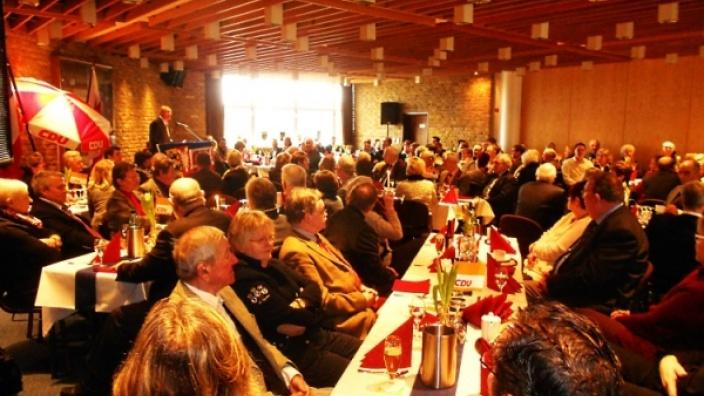 Neujahrsempfang des CDU Büsum