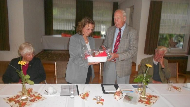 Christdemokratin Heike Franzen informiert SeniorenUnion