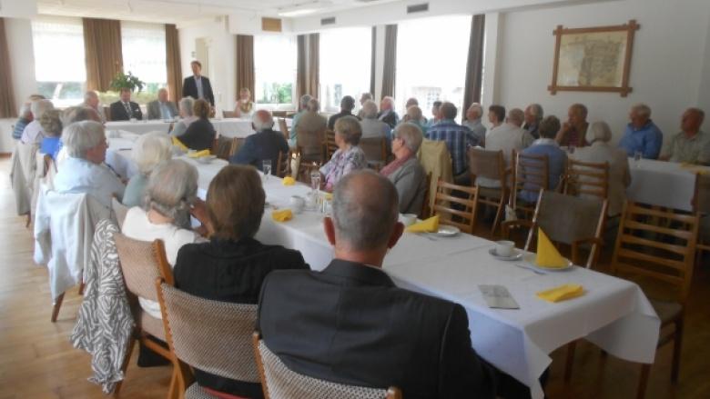 Hochkarätiger Besuch bei der Seniorenunion