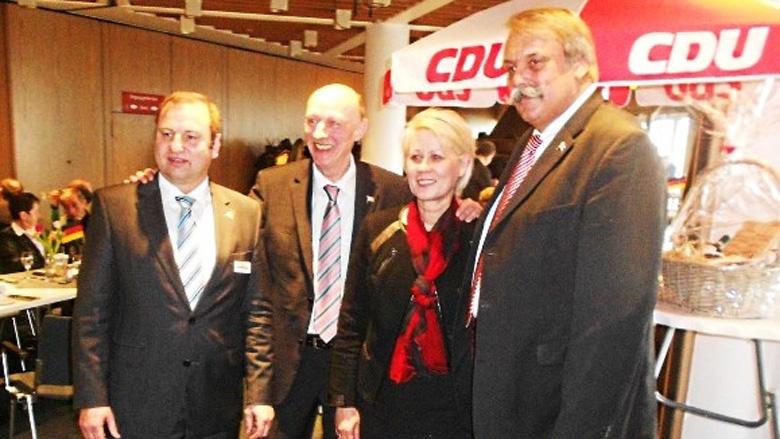 Neujahrsempfang der CDU Büsum vor vollem Haus