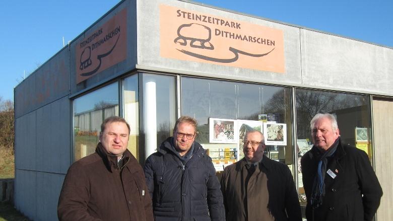 Besuch im Steinzeitpark
