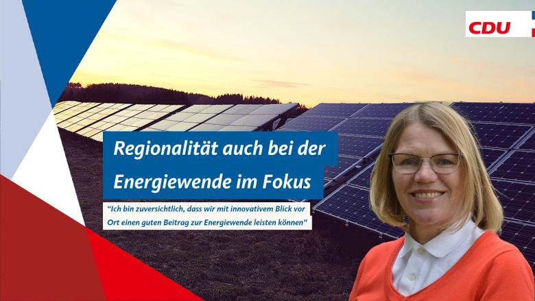 Regionalität auch bei der Energiewende im Fokus
