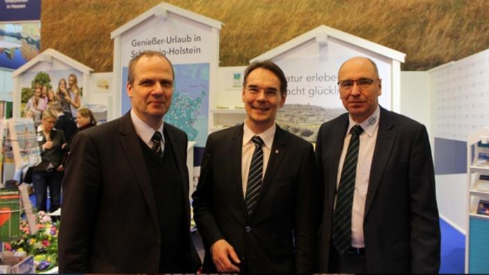 Ingbert Liebing MdB, Werner Schwarz, Stephan Gersteuer.