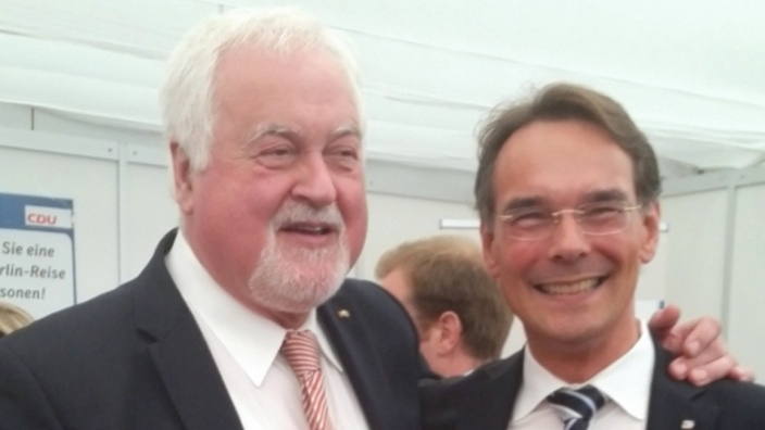 Peter Harry Carstensen und Ingbert Liebing