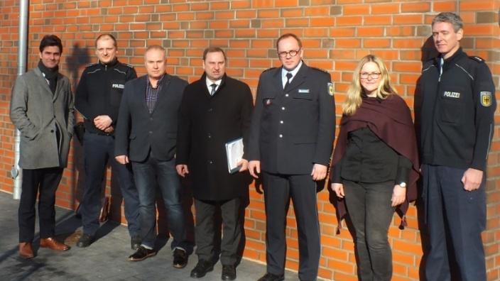 Gruppe Polizei