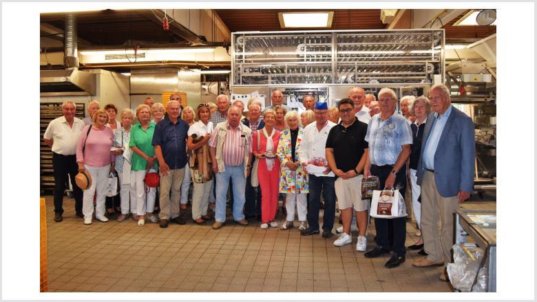 Senioren Union beim Kalle Bäcker